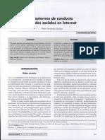 Psyc 200 c1 Trastornos de Conducta y Redes Sociales en Internet