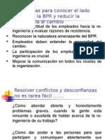 Estrategias Para Conocer El Lado Suave de La BPR y Reducir La Resistencia Al Cambio