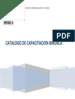 Catalogo de Capacitacion Ibnorca