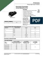 Especificação Módulo Tiristor P135