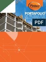Portafolio de Productos Construccion Pintuco