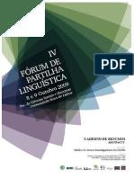 Livro de Resumos - IV Forum
