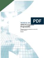 Manual Opus 2015 PreMANUAL OPUS 2015supuesto Programable