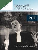 Powrie, Phil - Pierre Batcheff and Stardom in 1920s French Cinema