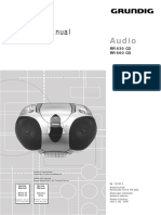 Grundig RR530_RR660 CD Radio Cassette Sm