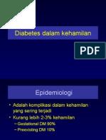 Diabetes Dalam Kehamilan