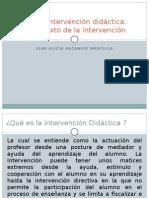 Intervención Didáctica El Contexto de La Intervencion ELVA ALICIA ASCENSIO MANCILLA