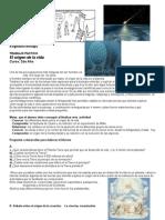 Actividad Origen de La Vida y Evolución 2012.Doc