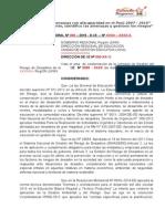Modelo de Resolucion II.ee