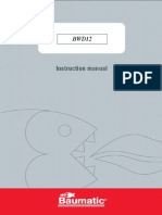 BWD12  - Instructions Manual