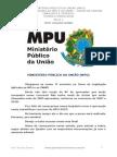 LEGISLAÇÃO APLICADA AO MPU E AO CNMP