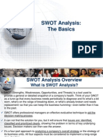 SWOT Analysis The Basics