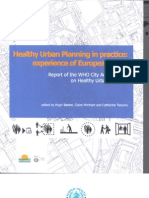 Healthy Urban Planning in Practice Experience of European Cities - WHO - 2003