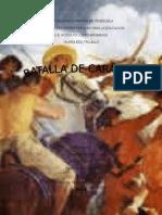 24 DE JUNIO Batalla de Carabobo