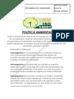 Politica Ambiental - FARMANGUINHOS