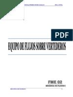 informe N°5 VERTEDERO TRIANGULAR