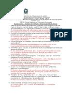 Questionário - Gestão Ambiental - Aluno