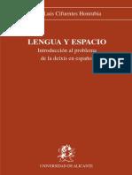 Lengua Y Espacio [PDF]