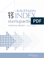 Kauffman Index Startup Activity National Trends 2015