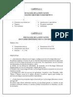 Temas de Psicología Educativa