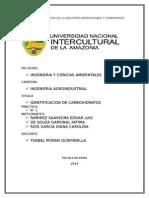 identificación de Carbohidrato