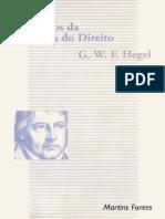 G. W. F. Hegel - Princípios Da Filosofia Do Direito - Ano de 1997