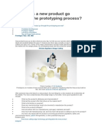 How Does a New Product Go Through the Prototyping Process