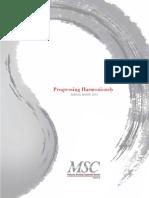 MSC AnnualReport2014
