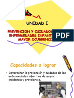 i Unidad Técnicas Clínicas Pediatricas.2010