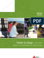 Healthy by Design a Planners Guide to Environments for Active Living - NHF Australia - 2004