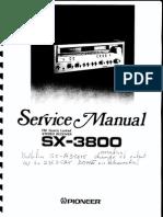 Pioneer SX-3800 Service Manual