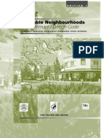 Liveable Neighbour Hoods Community Design Code Ed 1 - GWA Australia - 1997