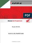 Manual Honda Xr 125l