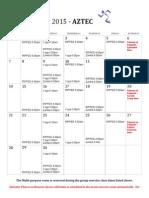Group Ex Schedule Aztec June '15