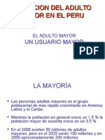 1.Situacion Del Adulto Mayor en El Peru