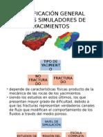 Exposicion clasificacion simuladores de yacimientos