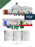 Calendário EsSA 2015