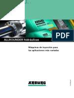 Arburg Hydraulic Allrounders 680474 Es