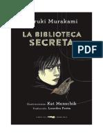 La Biblioteca Secreta -Haruki Murakami