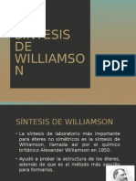 Síntesis de Williamson