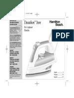 Plancha Hamilton Manual