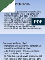DEMENSIA ALZHEIMER (Penyakit Degeneratif)
