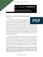 N° 5 Melodía y la Conciencia del Tiempo del Derecho -  Gerald J. Postema