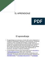 Tema 4-El Aprendizaje (1)