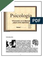 Psicologia La Dimension Psiquica Del Ser