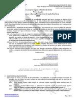 Manual Para La Presentación de Textos