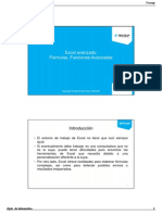 Excel - Fórmulas y Funciones Avanzadas