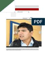 Está Bien Que Haya Asumido El Vicepresidente Regional Porfirio Medina La Presidencia Regional de Cajamarca y Hasta Cuando Lo Seguirá Asumiendo La Presidencia Según Rpp
