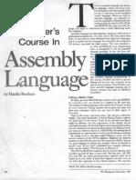 Basic Assembly Language Calculator