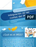 Cuotas IMSS 6to B